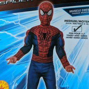 Spiderman costume Size Medium 8-10